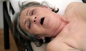 deep and deeper fuck granny hairy pussy old granny