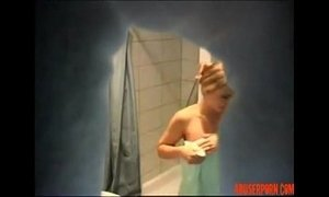 amateurs  daughters  shower  son and mommy  step son