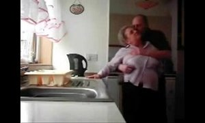 cam  caught  daddy  granny  hidden camera  kitchen