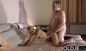 cock  cum  cum swallowing  fuck  grandpa  man vs woman