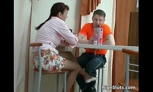 boy with mom  horny mature  mom