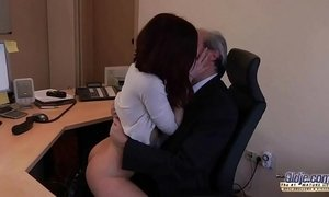 boss  cum  fuck  office  old cunt  sister