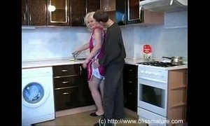 kitchen  mom  russian moms  son and mommy
