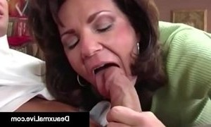 busty  cougar mama  fuck  huge boobs  man vs woman