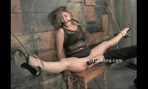 bdsm  blonde mature  dirty milf  tied  weird