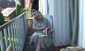 fuck  grandma  mothers  old cunt  outdoor sex
