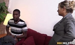 big black cock  busty  cougar mama  first time  fuck
