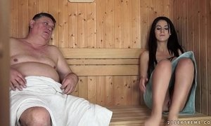 fuck  grandpa  horny mature  young and old