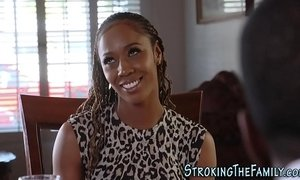 black mature  jizz  step dad  stepmother
