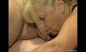 4some action fuck granny